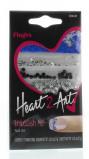 Afbeelding van Fing'rs Heart2art embellish me nagelstickers 1 stuk