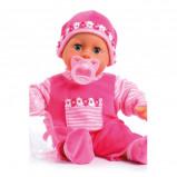 Afbeelding van Bayer first words baby 38 cm roze babypop