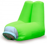 Image of Balvi Cloud inflatable chair (Colour: yellow green)