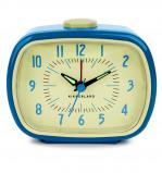 Afbeelding van Kikkerland Retro wekker (Kleur: blauw)