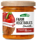 Afbeelding van Allos Farm Vegetables Smooth Paprika & Chili 140g