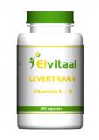 Afbeelding van Elvitaal Levertraan A D3, 400 capsules