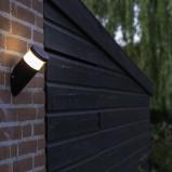 Bilde av Modern Oblique Outdoor Wall Lamp Black Incl. LED Prim