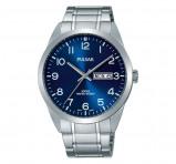 Afbeelding van Pulsar PJ6061X1 herenhorloge horloge Blauw,Zilverkleur