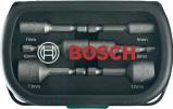 Afbeelding van Bosch 2607017313 6 delige doppenset met bitopname in cassettte