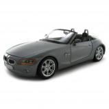 Afbeelding van Bburago schaalmodel BMW Z4 1:24 grijs