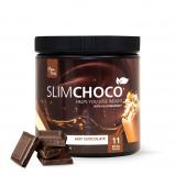 Afbeelding van 1x SlimChoco Weinig calorieën Chocolade Melk Poeder