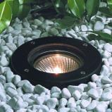 Afbeelding van Albert Leuchten zwarte grond inbouwspot Raimondo, gietaluminium, borosilicaatglas, E27, 75 W, energie efficiëntie: A++, H: 2 cm
