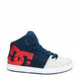 Afbeelding van DC Pure High Top leren sneakers blauw
