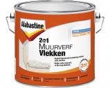 Afbeelding van Alabastine 5077773 2In1 Muurverf Vlekken Wit 2,5L