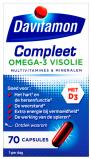 Afbeelding van Davitamon Compleet Omega 3 Visolie Plus Capsules