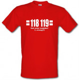 Imagine din 118 119 Got Your Number...(Wrong?!) male t shirt.