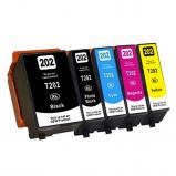 Afbeelding van Geschikt Epson 202XL multipack (inktcartridges) Alleeninkt