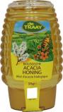 Afbeelding van Traay Acaciahoning knijpfles bio (375 gram)