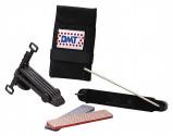 Afbeelding van DMT Quick Edge slijpmal met 2 diamant slijpstenen