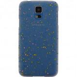 Afbeelding van Xccess Cover Spray Paint Glow Samsung Galaxy S5/S5 Plus/S5 Neo Blue