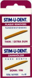 Afbeelding van Stimudent Tandenstokers Dun 4 X 40 stuks, 4x40 stuks