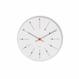 Image of Arne Jacobsen Bankers Wall Clock Ø 29 cm White (43640)