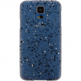 Afbeelding van Xccess Cover Spray Paint Glow Samsung Galaxy S4 I9500/I9505 Black Xc
