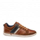 Afbeelding van AM SHOE leren sneakers bruin