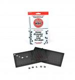 Afbeelding van Letter magneten (set van 201) Suck UK