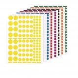 Afbeelding van Agipa Stickers 1.040 stuks, cirkels