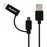 Afbeelding van 3 wegs schuko stekkerdoos wit excl. kabel Valueline