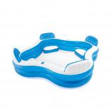 Afbeelding van Intex Summer Opblaasbaar Familiezwembad met Zitplaatsen