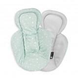 Afbeelding van 4moms Snug stoelverkleiner newborn cool mesh groen/grijs