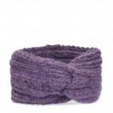 Afbeelding van Gebreide haarband paars
