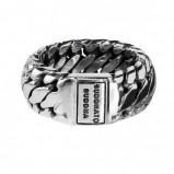 Afbeelding van Buddha to 542 Ring Ben Small Maat 19 zilver