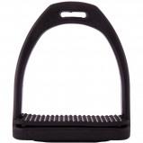 Abbildung von Agradi Steigbügel High Tech Schwarz 10cm