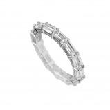 Afbeelding van Diamonfire 814.0158.165 Ring Alliance zilver Maat 16,5