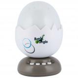 Afbeelding van Bo Jungle B Egg muziekprojector nachtlamp taupe B800500