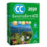 Afbeelding van ACSI Campinggids: CampingCard 2020 Nederlandstalig set 2 delen