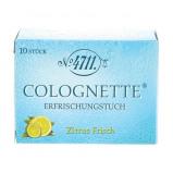 Afbeelding van 4711 Verfrissingdoekjes colognette lemon 10 stuks