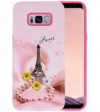 Afbeelding van 3D Print Hard Case voor Galaxy S8 Plus Paris