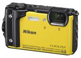 Afbeelding van Nikon Coolpix W300 compact camera Geel