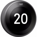 Afbeelding van Google Nest Learning Thermostat V3 Premium Zwart thermostaat