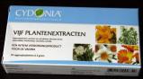 Afbeelding van Cydonia Vijf plantenextracten vaginaalzetpillen 10 stuks