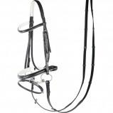 Abbildung von Harry's Horse Luxuriöse weiche Nasenwippe (Farbe: weiß, Maßgeschneidertes Pferd: Cob)