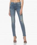 Afbeelding van Current/Elliott Skinny Jeans The High Waist Division Destroy