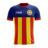 Image of 2017 2018 Catalunya Home Concept Football Shirt (Kids)