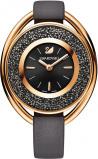 Afbeelding van Swarovski 5230943 Crystalline Oval Rosé Black horloge dameshorloge