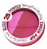 Afbeelding van 2B Blush Powder Trio 01 Pink
