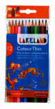 Afbeelding van Kleurpotloden Derwent Lakeland Colouthin Blister À 12 Stuks Assorti
