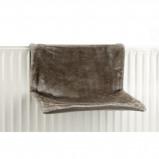 Abbildung von Beeztees Heizungshängematte Sleepy Grau 46x31x24cm