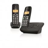 Afbeelding van Gigaset AL275A DUO zwart Dect telefoon