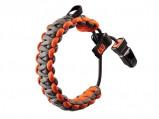 Afbeelding van Gerber paracord armband Bear Grylls Survival Bracelet Grijs Oranje