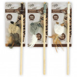 Afbeelding van All For Paws Lambswool Wand met Mouse